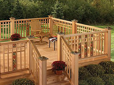 Decks, Railings & Fencing